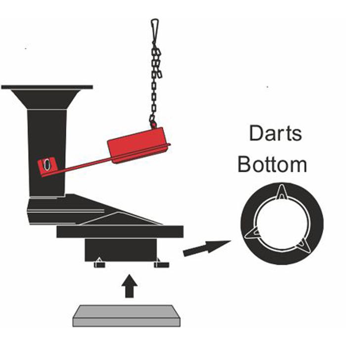 Kohler Rialto Dart 1 Piece Flush Valve