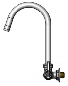 Equip by T&S Brass<BR>Single Hole Wall Mounted Faucets