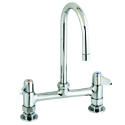 Equip by T&S Brass<BR>Deck Mounted Bridge Faucets