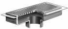 "Mifab Series F1760-FL 7"" X 15"" Heavy Duty Gutter Drain With Anchor Flange"