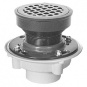 Zurn FD2340 Medium-Duty PVC or ABS Adjustable Floor Drain