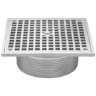 Zurn JP2280-S5 Square Nickel Strainer Assemblies