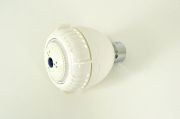 White Finish Shower Heads