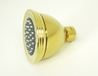 Polished Brass Finish Shower Heads