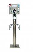 Leonard THS25P-VBD Floor Mounted Pedestal Unit