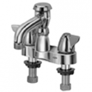 Zurn Z812N3 Centerset  6in Vacuum Breaker Spout, 3/4in Hose End  Dome Lever Hles.
