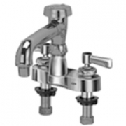 Zurn Z812Q1 Centerset  6in Vacuum Breaker Spout, An Aerated Outlet  Lever Hles.