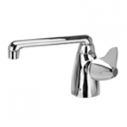 Zurn Z825F3-XL Single Lab Faucet  6in Cast Iron Spout  Dome Lever Hle Lead-free