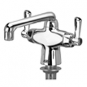 Zurn Z826F1-XL Double Lab Faucet  6in Cast Iron Spout  Lever Hles Lead-free