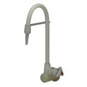 Zurn Z82900-WM Wall-Mounted Single Lab Faucet, Polypropylene, for Distilled Water