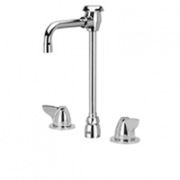 Zurn Z831T3-XL Lead-Free Widespread  4-1/2in Vacuum Breaker Spout  Dome Lever Hles.