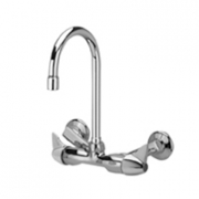 Zurn Z841B3 Service Sink Faucet  5-3/8in Gooseneck  Dome Lever Hles.