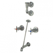 Zurn Z873E2-EVB Clinical Service Sink Faucet.