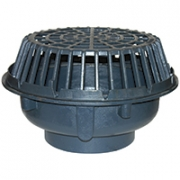 Zurn Z101 20in Diameter Main Roof Drain Low Silhouette Dome