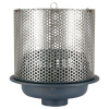 Zurn Z110 15in Diameter Main Green Roof Drain w Perforated Screen Assembly