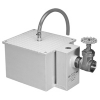 Zurn Z1173-TD Grease Interceptor w Accumulating Cone and Inline Shut-Off Valve