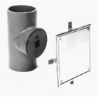 Zurn Z1447 Cleanout w Square Wall Access Cover