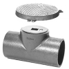 Zurn Z1448 Cleanout Tee with Round Floor Access Cover