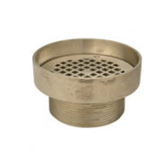 Zurn Z400I Type I Round Strainer w Raised Lip
