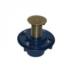 Zurn Z420 Deep Shank Floor and Shower Drain for Marble and Granite App
