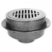 Zurn Z521 12in Diameter Adjustable Heavy-Duty Drain