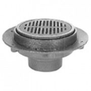 Zurn Z525 9in Diameter Adjustable Medium-Duty Drain