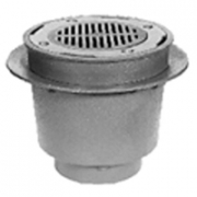 Zurn Z538 12in Medium Duty Drain w Deep Sump/Sur-Set Bucket