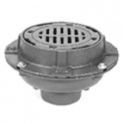 Zurn Z554 9in Diameter Medium-Duty Drain w Sur-Set Bucket