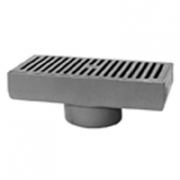 Zurn Z576 7 x 15 Medium-Duty Gutter Drain