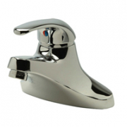 Zurn Z81000-XL Single Control Faucet Lead-free 4in Center chrome-plated cast brass body  integral sh