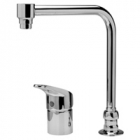 Zurn Z824S0-XL Single Control Side-Mounted Bent-Riser Faucet.
