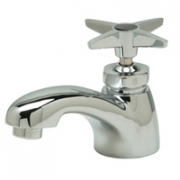 Zurn Z82702-XL Single Basin Faucet with Four Arm Handle. Lead-free