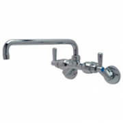 Zurn Z841H1-15F Back-Mounted Faucet  12in Tubular Spout  Lever Hles.