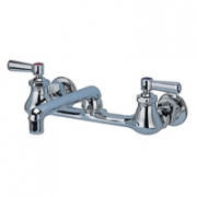 Zurn Z842F1-15F Back-Mounted Faucet  6in Cast Spout  Lever Hles.