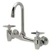 Zurn Z843A2 Sink Faucet  3-1/2in Gooseneck  Four-Arm Hles.
