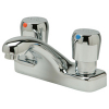 Zurn Z86500-XL-P 4in Centerset Metering Faucet  Pop-Up Drain Low-lead compliant