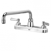 Zurn Z871H1-XL Kitchen Sink Faucet  12in Tubular Spout  Lever Hles. Lead-free