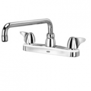 Zurn Z871H3-XL Kitchen Sink Faucet  12in Tubular Spout  Dome Lever Hles. Lead-free