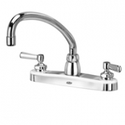 Zurn Z871J1-XL Kitchen Sink Faucet  9-1/2in Tubular Spout  Lever Hles. Lead-free