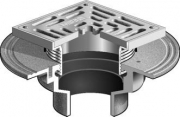 MIFAB Series F1100-S Square Floor Drain For Non-Membrane Floor Areas