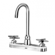 Zurn Z871A2-XL Kitchen Sink Faucet  3-1/2in Gooseneck  Four-Arm Hles. Lead-free