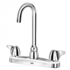 Zurn Z871A3-XL Kitchen Sink Faucet  3-1/2in Gooseneck  Dome Lever Hles. Lead-free