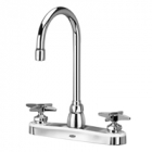 Zurn Z871B2-XL Kitchen Sink Faucet  5-3/8in Gooseneck  Four-Arm Hles. Lead-free