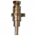 Wolverine Brass* Square Broach Stem for Ceramic Cartridge -Cold