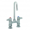 T&S Brass 5F-4DLS03 Equip 4IN Deck Mount Base Faucet