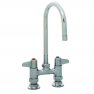 T&S Brass 5F-4DLS05 Equip 4IN Deck Mount Faucet