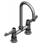 T&S Brass 5F-6DWS05 Equip 6IN Deck Mount Faucet