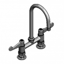 T&S Brass 5F-6DWX05 Equip 6IN Deck Mount Faucet