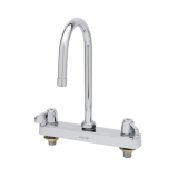 T&S Brass 5F-8CLX05 Equip 8IN CtrsDeck Mount Workboard Faucet