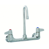 T&S Brass 5F-8WLX03 Equip Faucet Wall Mount 8IN Ctrs